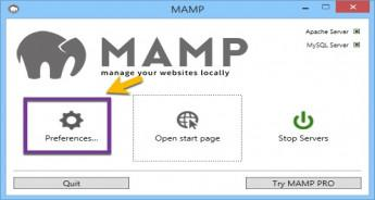 Install MAMP to create a stable PHP and MYSQL runtime environment