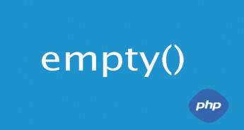 The empty() function in Php