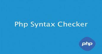 Php syntax checker