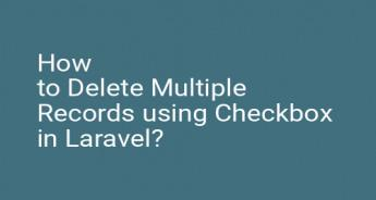 How to Delete Multiple Records using Checkbox in Laravel?