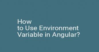 How to Use Environment Variable in Angular?