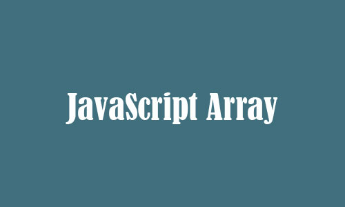 JavaScript Array
